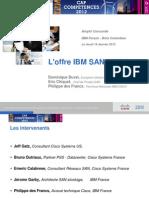 6 - Worshop SAN IBM Cisco 19 Janvier 2012