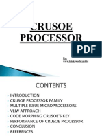 Crusoe Processor ppt