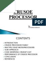 Crusoe Processor ppt