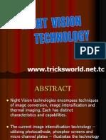 Night Vision Technology Seminar Presentation