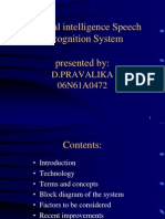 AI Speech Recognition