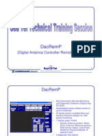 DacRemP3 Training+Document