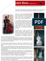 How to paint a double bass