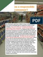 Responsible Consumerism