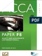 BPP F8 Audit and Assurance Int Study Text BPP