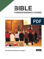 Bible Law Lesson 5