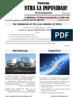 Boletín nº 8 de nuestra Plataforma