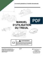 Winch Application Manual Fr