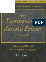 The Distinguished Jurists Primer Vol 1