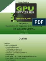 GPU Computing Gems Chapter 34 Review