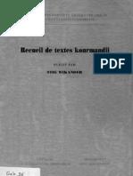 Çîrokên Kurmancî - Stig Wikander