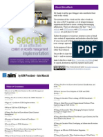 8 Secrets of Content and Records Management Strategy