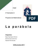 Copia de Proyecto Parabola