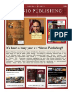 Milenio Publishing Newsletter
