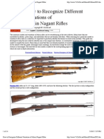 How to Recognize Different Variations of Mosin Nagant Rifles