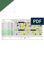 Calendário FBTE 1 Sem 2012
