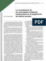 Andrade Dávila - 2002 - La competencia de las autoridades indígenas tradic
