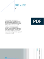 Voice and SMS in LTE_white Paper