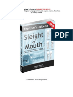 The Users Guide to Sleight of Mouth by Doug O Brien v3