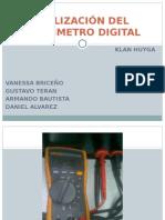 UtilizaciÓn Del Multi Metro Digital