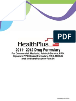 Health Plus Drug Formulary