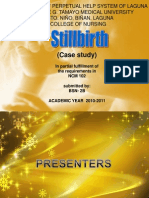 Still Birth Case Presentation by BSN2B