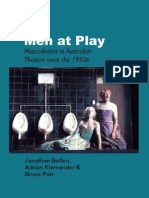 Men at Play Masculinities in Australian Theatre Since the 1950s - Australian_Playwrights_Monograph