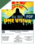 March 4th 2012 Parish Bulletin - St. Patrick Catholic Community Scottsdale, AZ