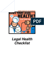 Legal Checklist
