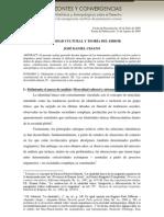 Cesano - 2009 - Diversidad cultural y teoría del error