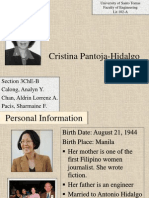 Cristina Pantoja-Hidalgo