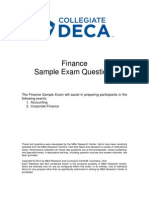 COL Finance Sample Exam