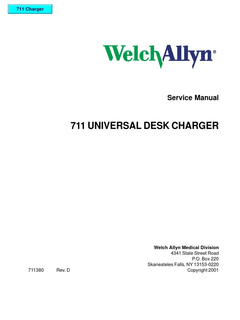 Welch Allyn Service Manual Universal Charger Battery Completed Solar With Lm317t Current Limiting Circuit Transistor