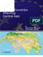 The External Dynamics Affecting Central Asia