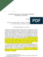 Enciso Contreras - 2006 - El Proceso Penal en Los Pueblos de Indios Durante