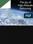Near Space Ballooning