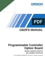 3g3mv p10cdt e Users Manual