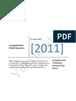 Computational Fluid Mechanics simulation and computation with Gambit and Fluent