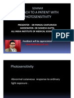 Approach To Photosensitivity - Dr Pankaj AIIMS, New Delhi