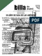 La Jiribilla de Papel, nº 081, marzo-abril 2009