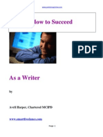 Succeed as a Writer