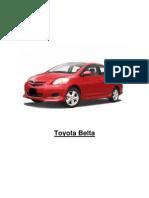 Toyota Belta Report