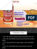 Kingfisher Beer 111