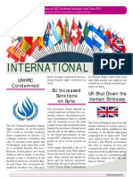 Current Affairs International Events Dec 2011