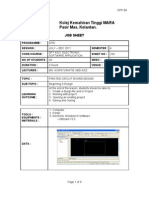 Job Sheet 6