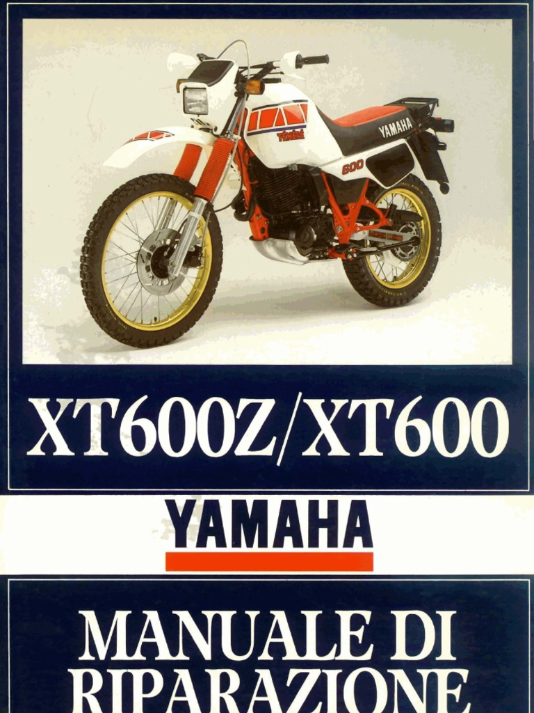 Schema Elettrico Xt 600 : Yamaha tènèrè xt z xt del manuale d officina