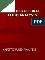 Ascitic Fluid Seminar
