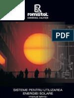 Manual Tehnic Instalatii Solare