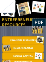 Entrepreneurial Resources & Leadership