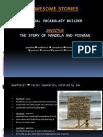Mandela Vocab